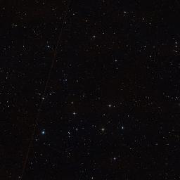 Wikisky image of area around Neptune